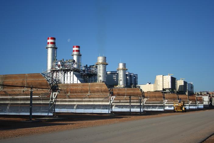 El poder del sol junto con la eficiencia del gas natural