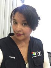 Claudia Sánchez Ortiz, coordinadora del PEyC en México.